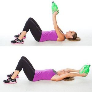 exercice pour maigrir des seins